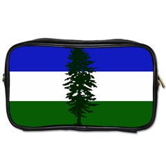 Flag Of Cascadia Toiletries Bags 2 Side