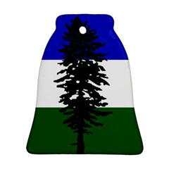 Flag Of Cascadia Bell Ornament (two Sides) by abbeyz71