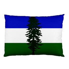 Flag Of Cascadia Pillow Case (two Sides) by abbeyz71