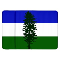 Flag Of Cascadia Samsung Galaxy Tab 8 9  P7300 Flip Case by abbeyz71