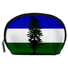 Flag Of Cascadia Accessory Pouches (large)