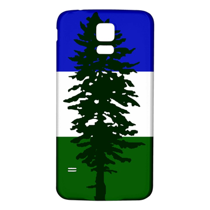 Flag of Cascadia Samsung Galaxy S5 Back Case (White)