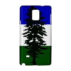 Flag Of Cascadia Samsung Galaxy Note 4 Hardshell Case by abbeyz71