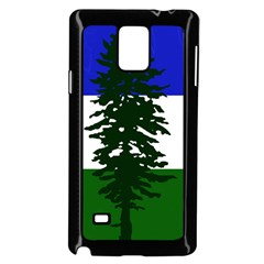Flag Of Cascadia Samsung Galaxy Note 4 Case (black) by abbeyz71