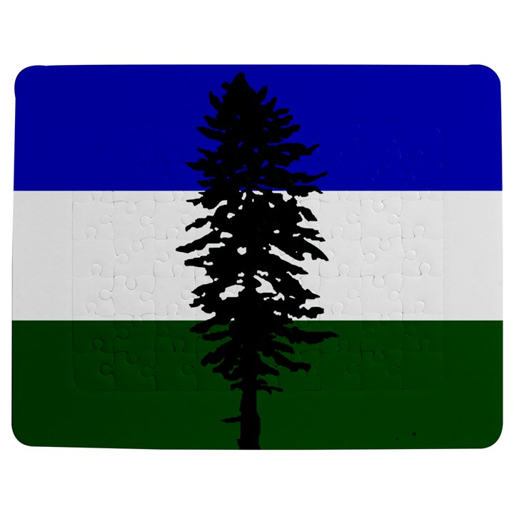 Flag of Cascadia Jigsaw Puzzle Photo Stand (Rectangular)
