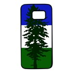 Flag of Cascadia Samsung Galaxy S7 Black Seamless Case Front