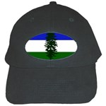 Flag of Cascadia Black Cap Front