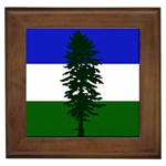 Flag of Cascadia Framed Tiles Front
