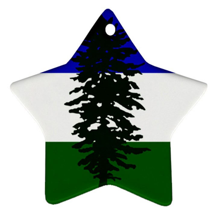 Flag of Cascadia Ornament (Star)