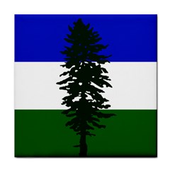 Flag Of Cascadia Face Towel