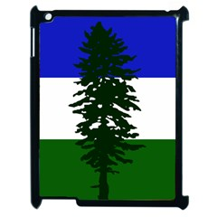 Flag Of Cascadia Apple Ipad 2 Case (black) by abbeyz71