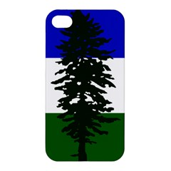 Flag Of Cascadia Apple Iphone 4/4s Premium Hardshell Case by abbeyz71