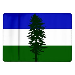 Flag Of Cascadia Samsung Galaxy Tab 10 1  P7500 Flip Case