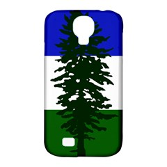 Flag Of Cascadia Samsung Galaxy S4 Classic Hardshell Case (pc+silicone) by abbeyz71
