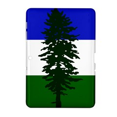 Flag Of Cascadia Samsung Galaxy Tab 2 (10 1 ) P5100 Hardshell Case  by abbeyz71