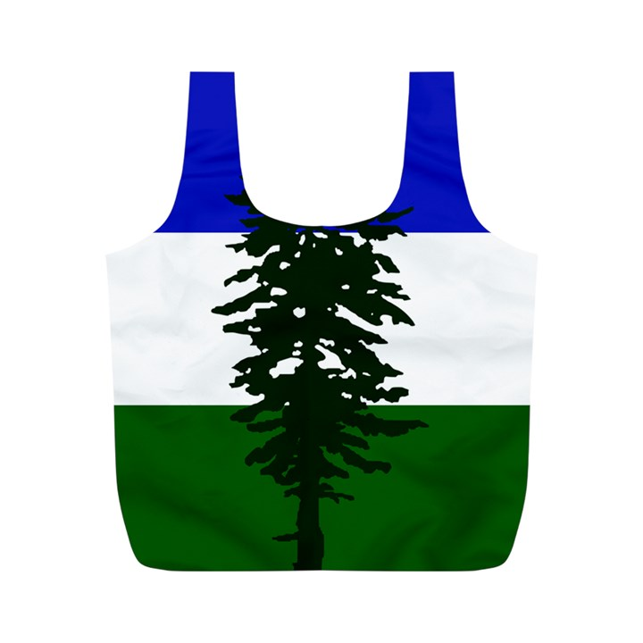 Flag of Cascadia Full Print Recycle Bags (M)