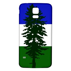 Flag Of Cascadia Samsung Galaxy S5 Back Case (white) by abbeyz71
