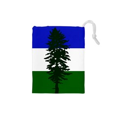 Flag Of Cascadia Drawstring Pouches (small)  by abbeyz71