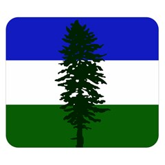 Flag Of Cascadia Double Sided Flano Blanket (small)  by abbeyz71