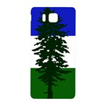 Flag of Cascadia Samsung Galaxy Alpha Hardshell Back Case Front