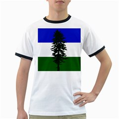 Flag Of Cascadia Ringer T Shirts by abbeyz71