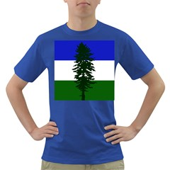 Flag Of Cascadia Dark T Shirt by abbeyz71