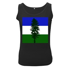 Flag Of Cascadia Women s Black Tank Top by abbeyz71