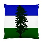 Flag of Cascadia Standard Cushion Case (Two Sides) Back