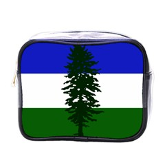 Flag Of Cascadia Mini Toiletries Bags by abbeyz71