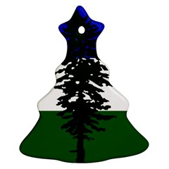 Flag Of Cascadia Christmas Tree Ornament (two Sides) by abbeyz71