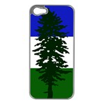 Flag of Cascadia Apple iPhone 5 Case (Silver) Front