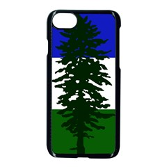 Flag Of Cascadia Apple Iphone 8 Seamless Case (black) by abbeyz71