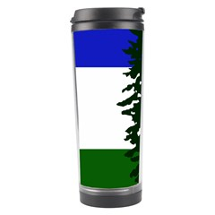 Flag Of Cascadia Travel Tumbler by abbeyz71