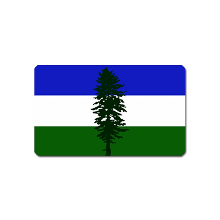 Flag of Cascadia Magnet (Name Card)