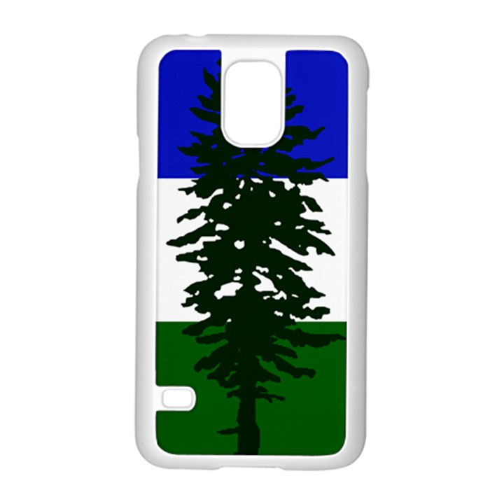 Flag of Cascadia Samsung Galaxy S5 Case (White)