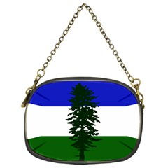 Flag Of Cascadia Chain Purses (one Side)  by abbeyz71