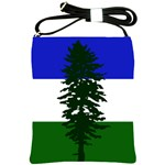 Flag of Cascadia Shoulder Sling Bags Front