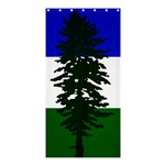 Flag of Cascadia Shower Curtain 36  x 72  (Stall)  33.26 x66.24 Curtain