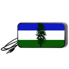 Flag Of Cascadia Portable Speaker by abbeyz71