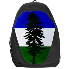 Flag Of Cascadia Backpack Bag by abbeyz71