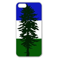 Flag Of Cascadia Apple Seamless Iphone 5 Case (clear) by abbeyz71