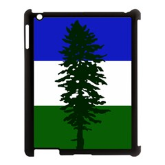 Flag Of Cascadia Apple Ipad 3/4 Case (black) by abbeyz71