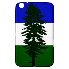 Flag Of Cascadia Samsung Galaxy Tab 3 (8 ) T3100 Hardshell Case  by abbeyz71