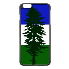Flag Of Cascadia Apple Iphone 6 Plus/6s Plus Black Enamel Case by abbeyz71