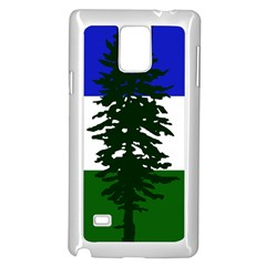 Flag Of Cascadia Samsung Galaxy Note 4 Case (white) by abbeyz71
