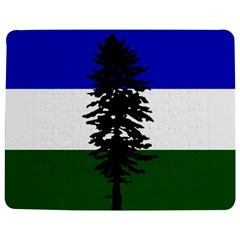 Flag Of Cascadia Jigsaw Puzzle Photo Stand (rectangular) by abbeyz71