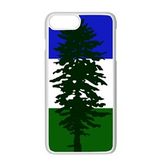 Flag Of Cascadia Apple Iphone 7 Plus Seamless Case (white) by abbeyz71