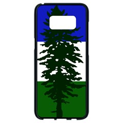Flag Of Cascadia Samsung Galaxy S8 Black Seamless Case by abbeyz71