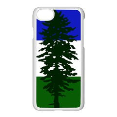 Flag Of Cascadia Apple Iphone 8 Seamless Case (white) by abbeyz71