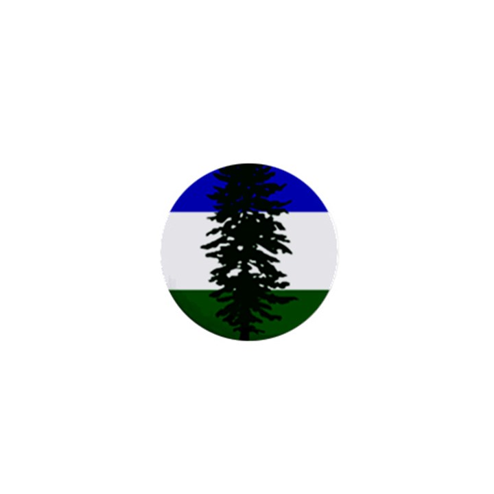 Flag of Cascadia 1  Mini Buttons